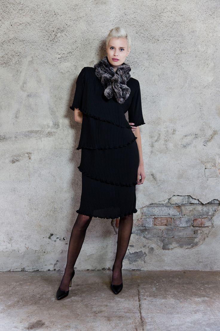 Black dress. Kriss Fashion. www.kriss.eu