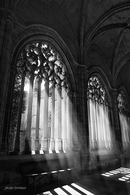 Claustro de Catedral de Segovia.
