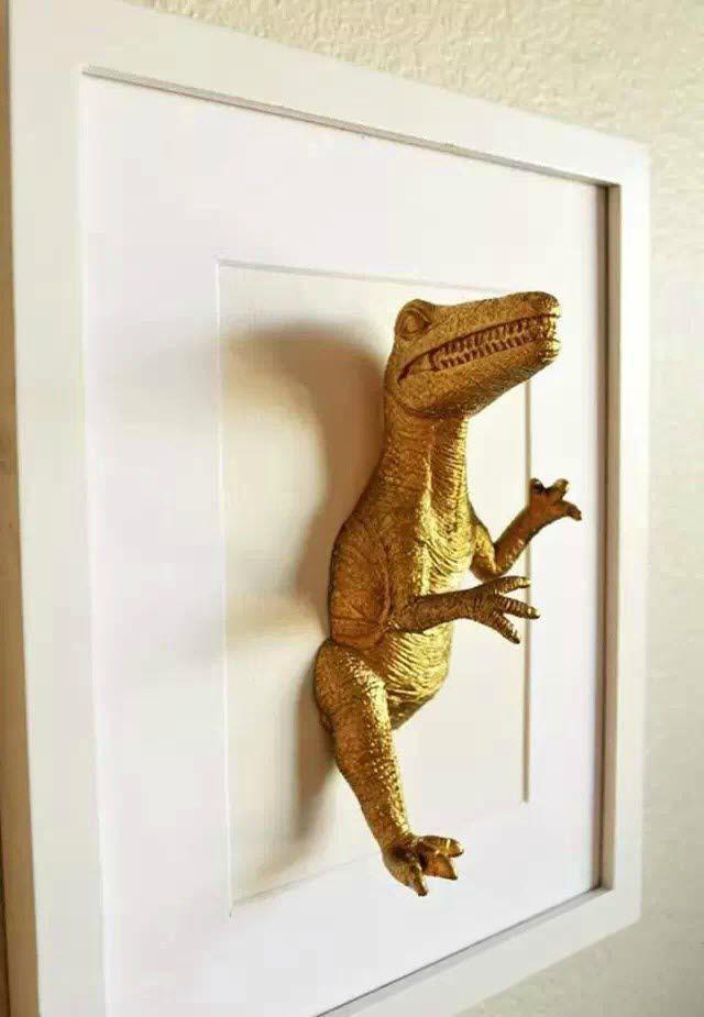 cadre deco dinosaure