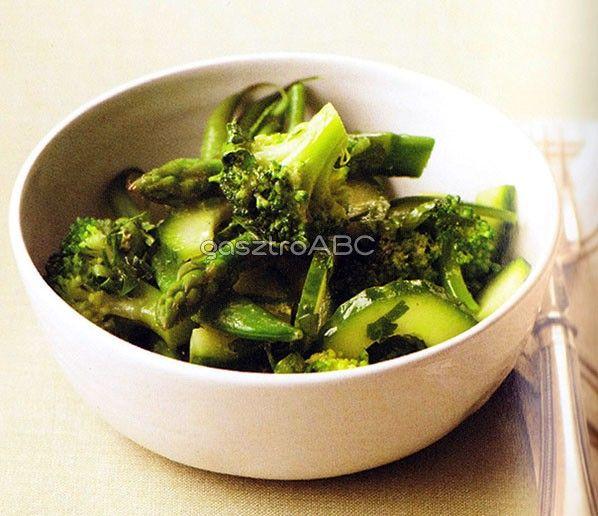 Nyári zöldségsaláta
