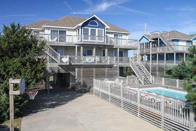 Hurricane Emily: 6 Bedroom, 5 1/2 Bath - Private Pool - Pet Friendly - Oceanview - Avon NC