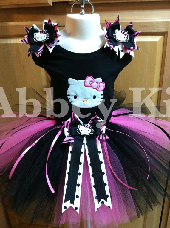 Hello kitty tutu set