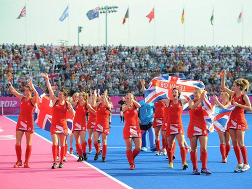 Great Britain's women secured only their second ever Olympic hockey bronze medal with a 3-1 win over New Zealand at the Riverbank Area.