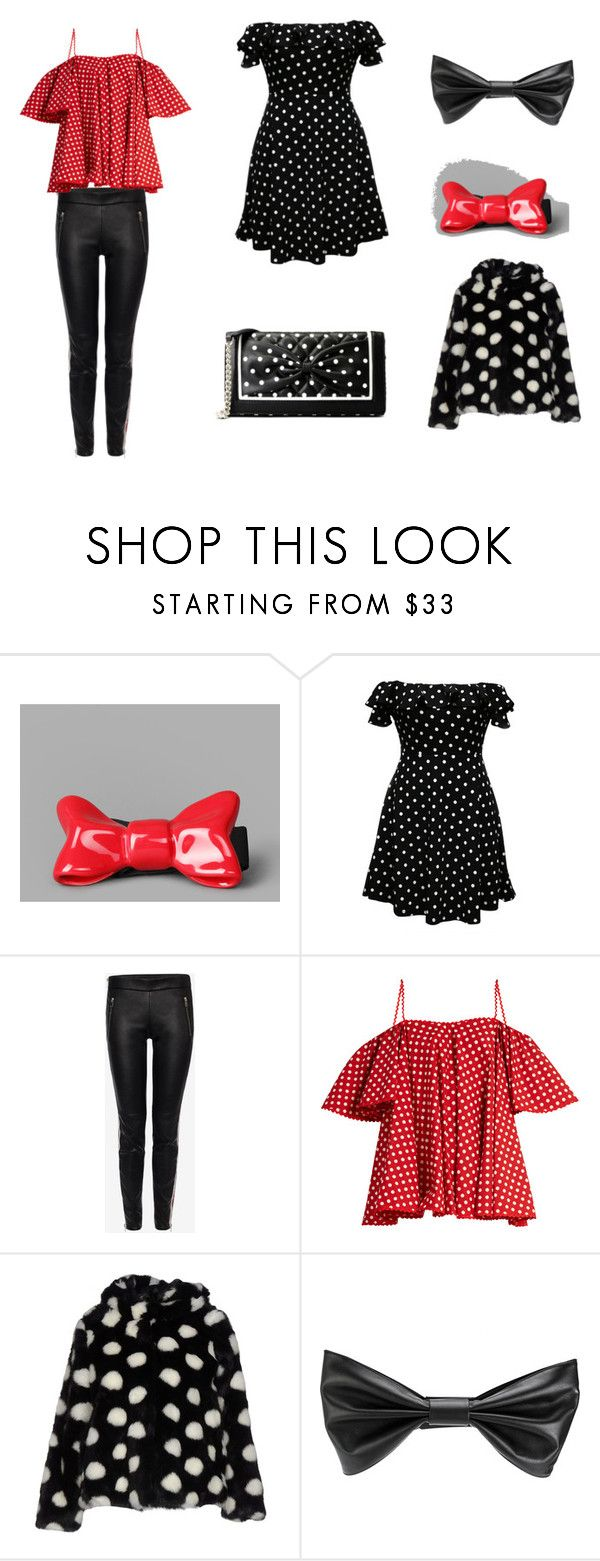 """""""girls day out"""" by lacey-h001 ❤ liked on Polyvore featuring Cor Sine Labe Doli, WithChic, Alexander McQueen, Anna October, Kontatto, Philosophy di Lorenzo Serafini and Boutique Moschino"""