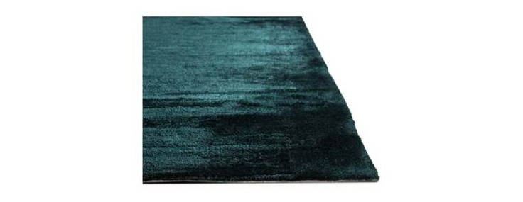 The colour of this teal Elegance rug is stunning - BoConcept