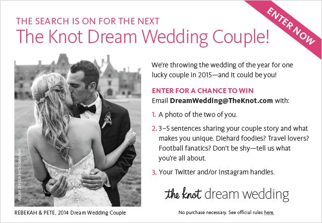 The knot wedding couple search video search engine at for Wedding registry the knot