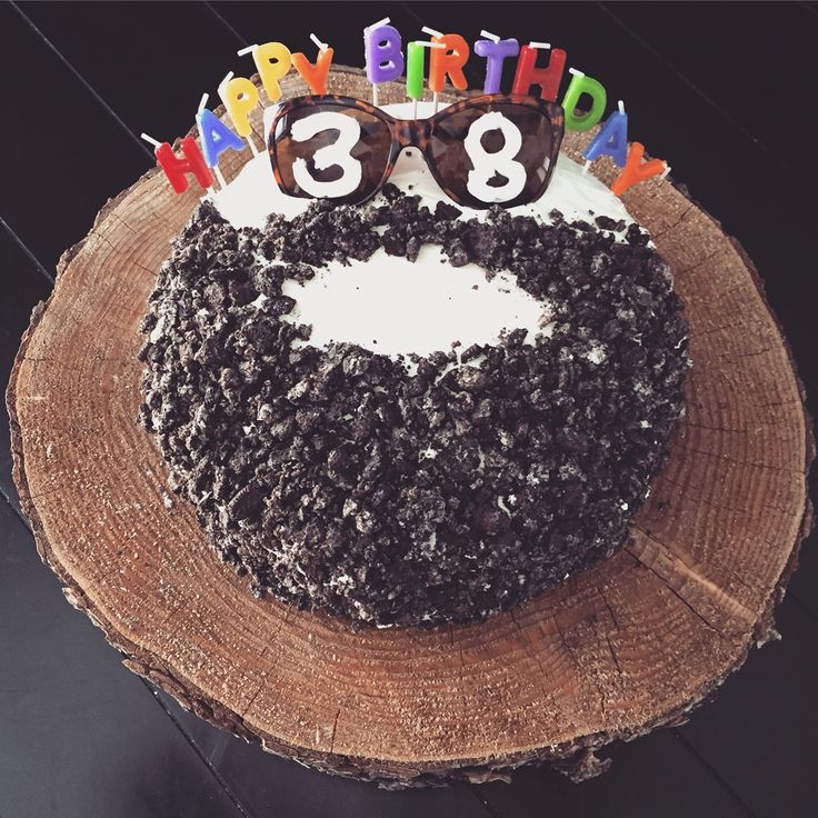 Beard cake for the hubs birthday!