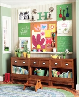 Many beautiful and organized homeschool classroom ideas