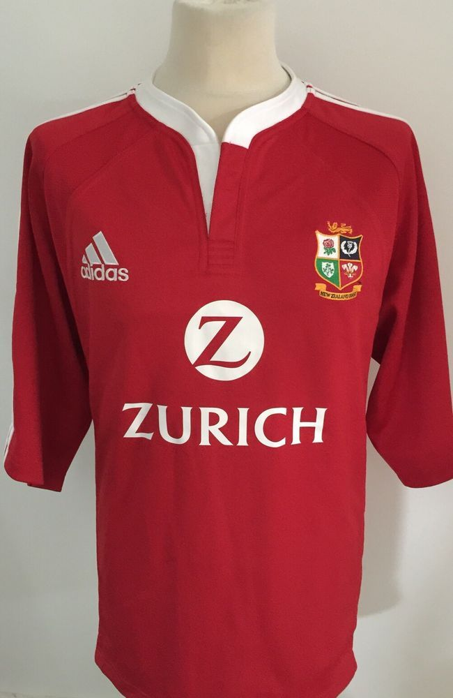 BRITISH LIONS Rugby Shirt Jersey NEW ZEALAND 2005 Size XL BNWT  | eBay
