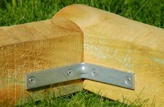 Finish Off Flower Beds in Style With Landscape Timbers: Use Corner Braces to Build the Corners