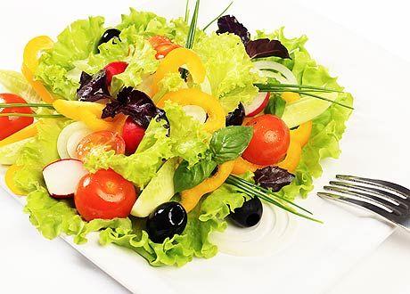 Домашние овощные салаты по-корейски