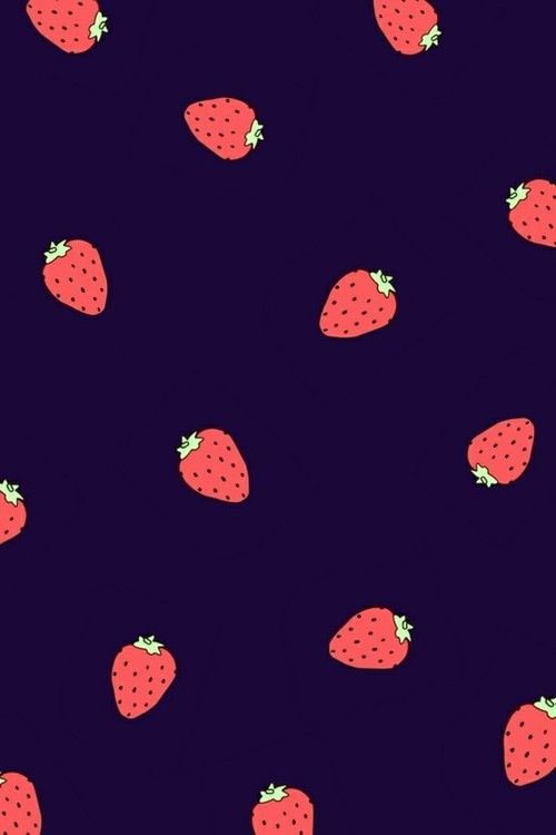 Strawberry iPhone wallpaper