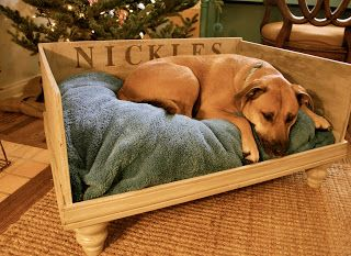 17 best images about diy dog beds on pinterest creative for Homemade pet beds