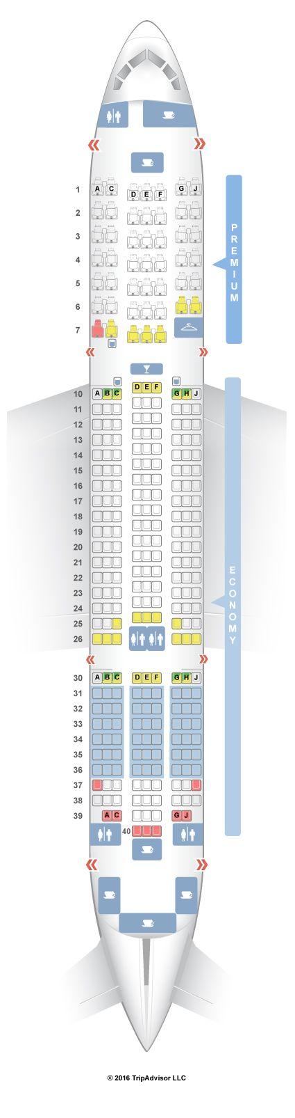 SeatGuru Seat Map Thomson Boeing 787-8 (788) - SeatGuru