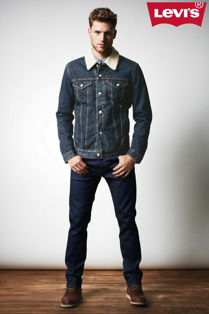 Leviu2019su00ae Sherpa Trucker Denim Jacket #levisbegifted | My Style | Pinterest | Denim jackets Man ...
