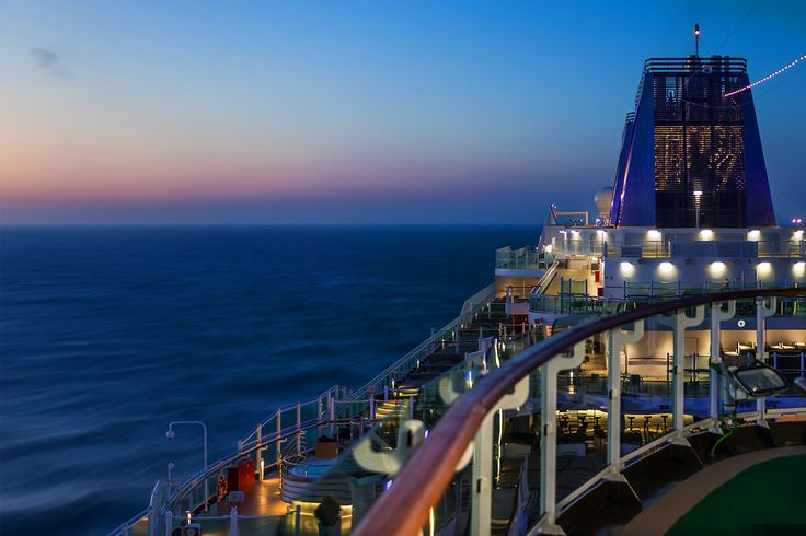 What a perfect view - Only on Britannia! Image thanks @pandocruises #pocruises #britannia #cruise #travel