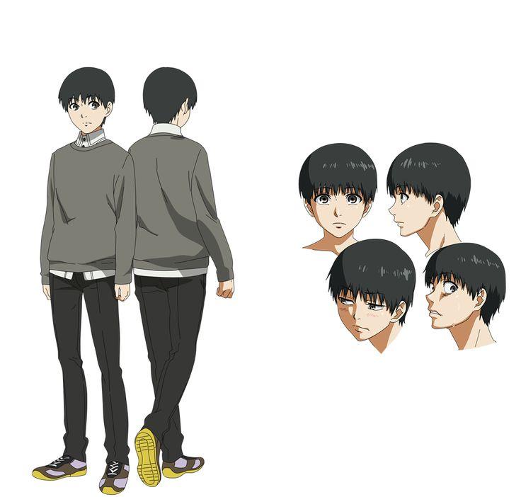 Anime Character Design Reference : Tokyo ghoul toukyou kushu kaneki ken