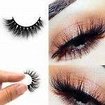 Permanent 3D Real Mink Eyelash, Cross Thick Eyelashes, Natural Long lash, Hand Made false Lashes Siberian Mink Eyelash Extension