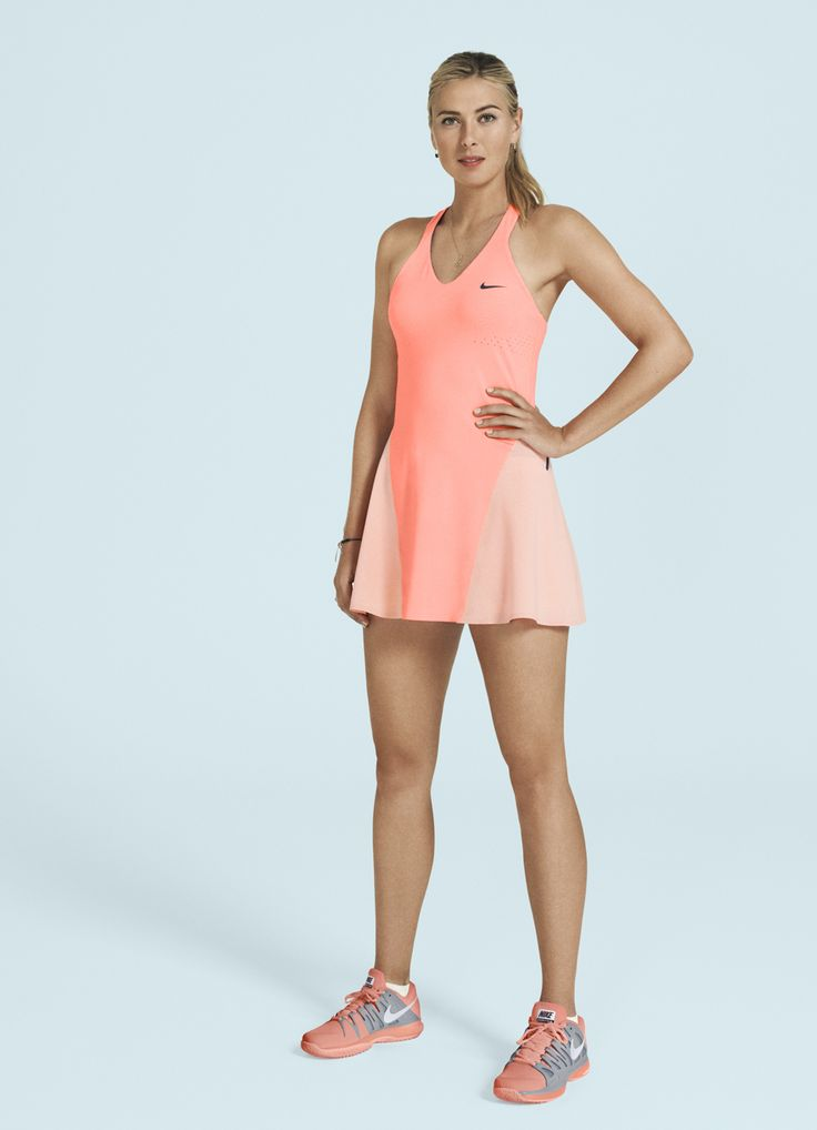 Nike Tennis Collection for US Open 2013: Maria Sharapova One of my favorite Sharapova dresses!