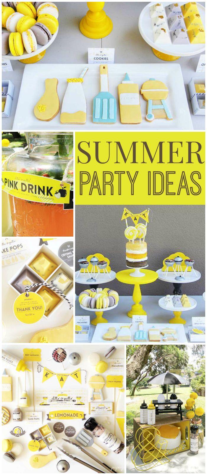 638 Best Summer Party Ideas Images On Pinterest Summer