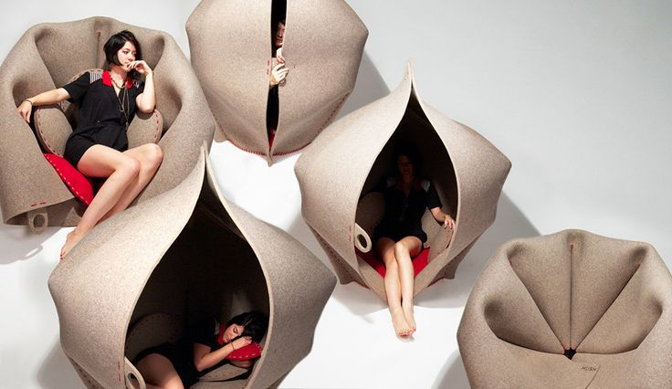A Seating Pod For Anyone Who Wants To Hide From The World
