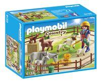 Playmobil Country 6133 Fermière avec animaux