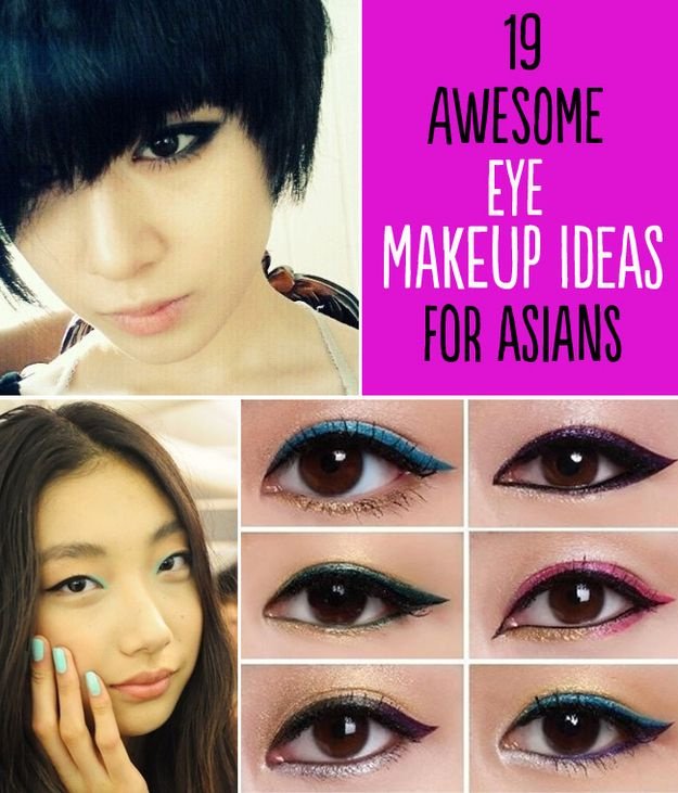 Yes, it's eye makeup tips for those of Asian descent... but I do have a few challenges in common for making my eye makeup pop, so I'll be trying some of these things out :)