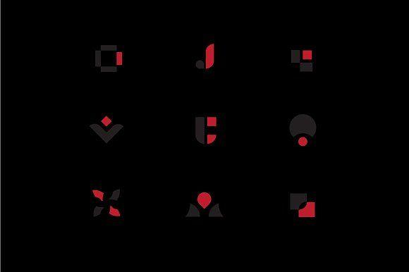 Minimalistische Logo-Sammlung von Hamidah auf Creative Market