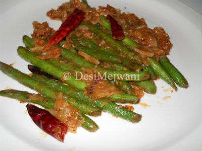 Chinese Style String Beans Recipe