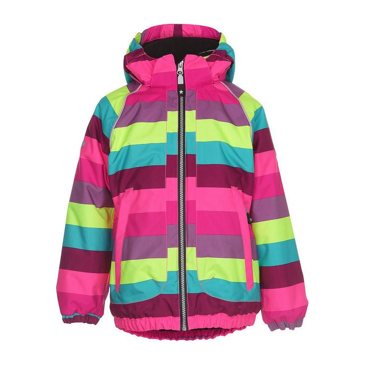 Molo Cathy Girly Rainbow Coat