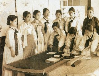 korea hanbok lower class clothing