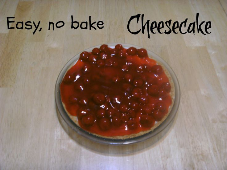 No bake cheesecake | Recipe