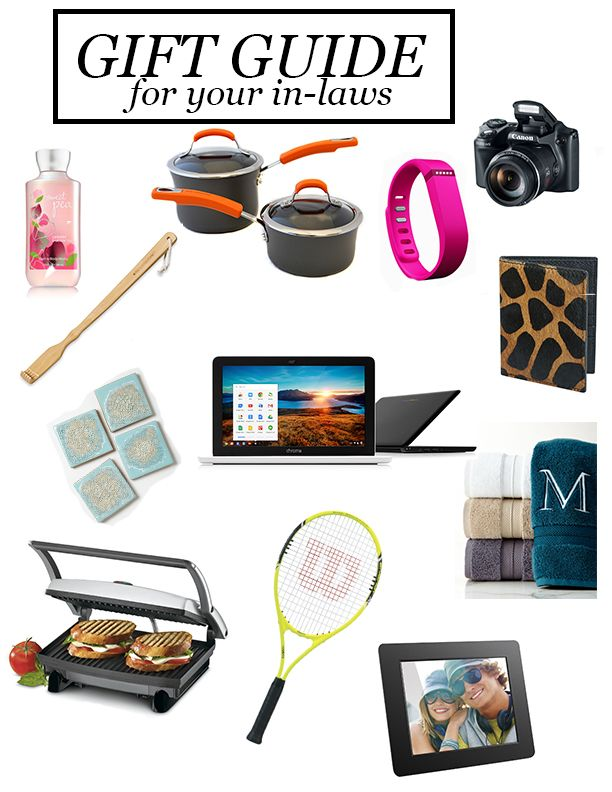Gift guide for the in-laws! Perfect for Christmas!