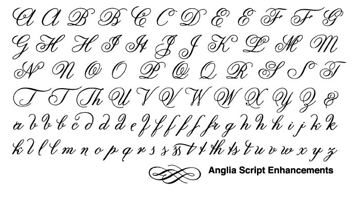 French fonts the true font name referenced in