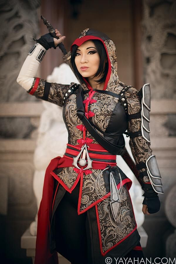 Shao Jun from Assassin's Creed: China Chronicles Cosplayer: Yaya Han Photographer: Kamui Cosplay