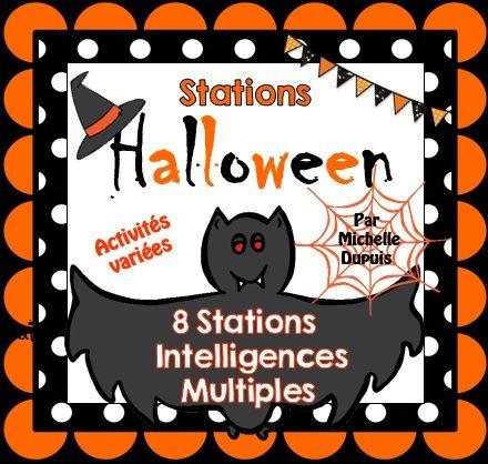 Halloween - Des activités variées pour fêter l'Halloween en salle de classe avec les élèves.