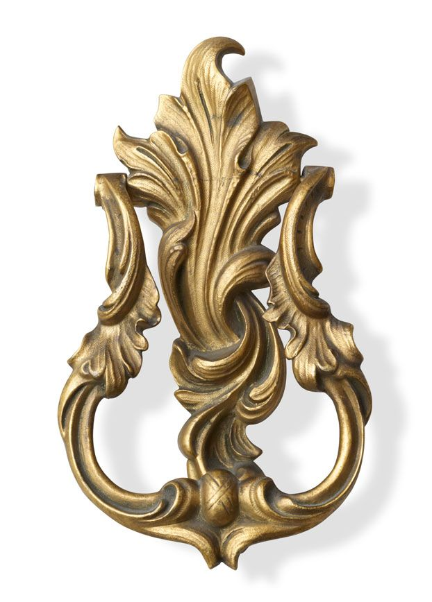 Louis XV Hand-Casted Solid-Brass Door Knocker | P.E. Guerin