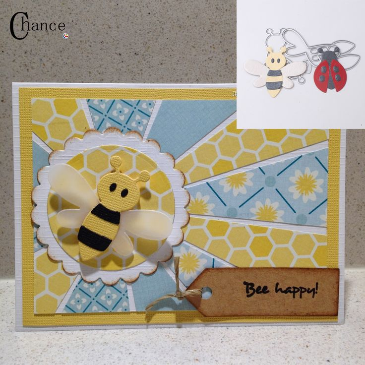 Bee & Ladybird Stansmessen Stencils DIY Scrapbooking Album papier craft Decoratieve metalen snijden sterven in Bee & Ladybird Stansmessen Stencils DIY Scrapbooking Album papier craft Decoratieve metalen snijden sterven van Stansmessen op AliExpress.com | Alibaba Groep
