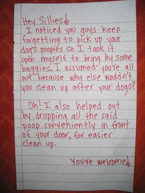 I sure would do this if I knew who lets their dog do their business in our yard!!!!!!  In a heartbeat!!!!