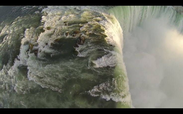 Maid Of The Mist may have some competition for the best viewing spot in Niagara Falls. Youtube user questpact recently shared a stunning video of the falls, which was shot using a GoPro camera and DJI Innovations Phantom quadcopter.