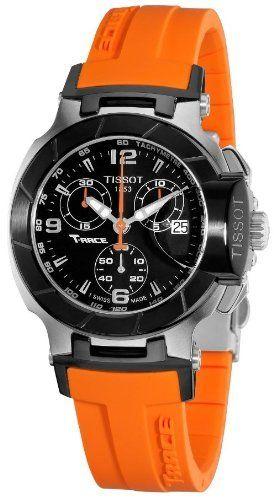 Tissot T-Race Chronograph Orange Ladies Watch T0482172705700 Tissot. $467.44. Save 28%!