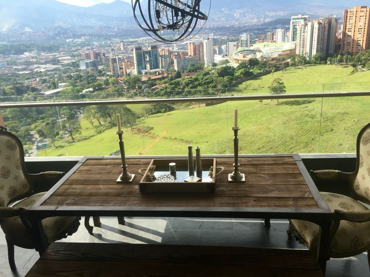 Cioccolato view to Medellin City