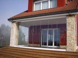 Резултат с изображение за cerramientos con cortinas de cristal