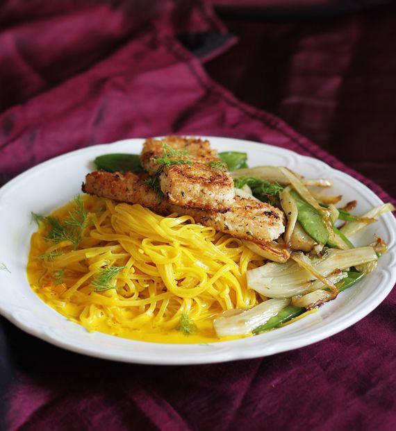 Panerad tofu