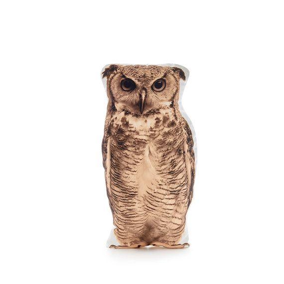 Owl Cushion Owl Pillow Owl Decor Woodland Decor Owl Gifts
