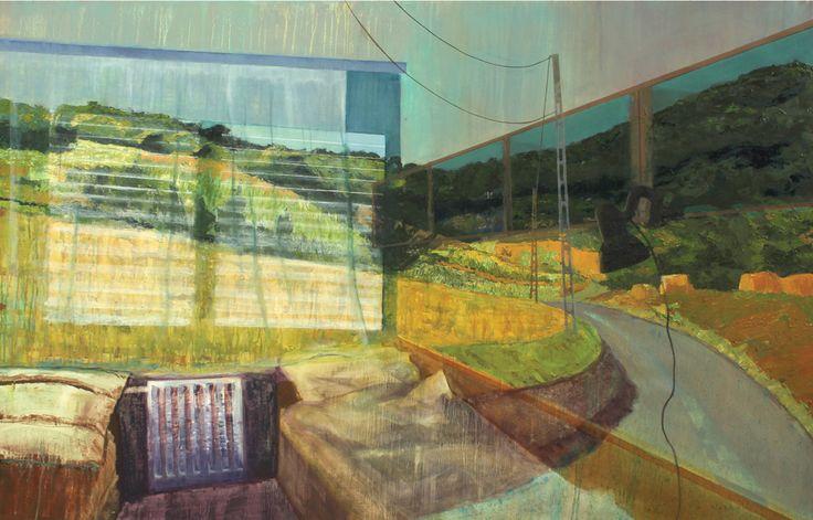 Tranparecy 2012 oil on canvas 100x 150 cm