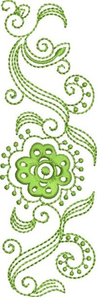 Folk Art Batik Embroidery 3 Susa Glenn Machine Embroidery Machine Embroidery