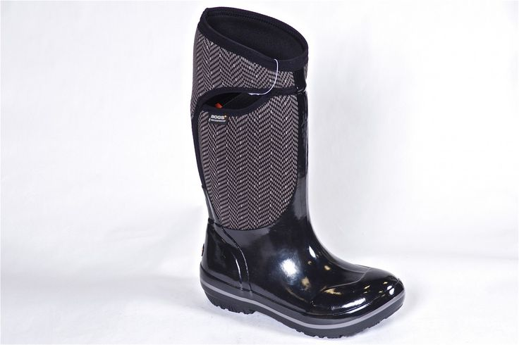 Herringbone Tall by Bogs - The perfect winter snow boot. -40 rated this boot is waterproof, slush proof and simply winter proof. Order yours now: http://millershoes.com/shop/bogs/herringbone-tall/ #Bogs #winterboots