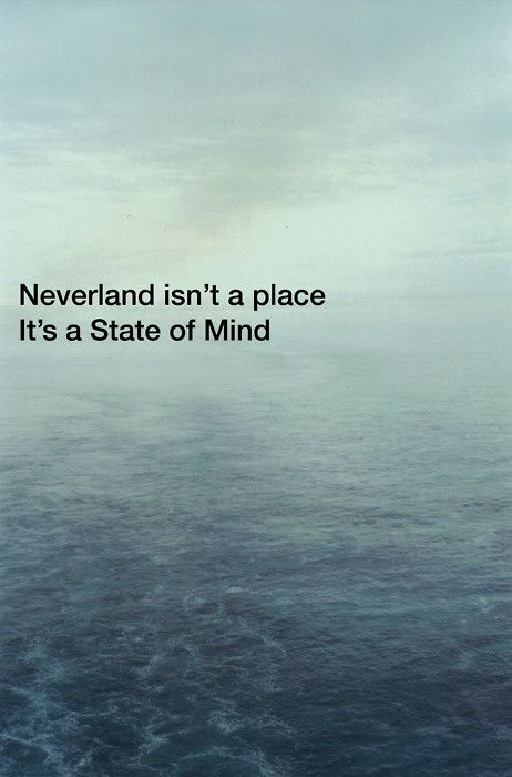 And it is definitely blue. Top 30 Peter pan Quotes