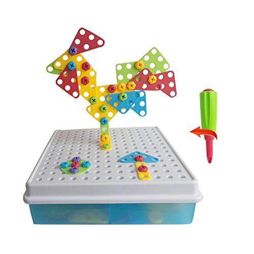 Nuova offerta in #giocattolo : Giocattoli di Costruzione di Puzzle Giochi Mattoncini Kit per il fai da te rompicapo 3d giocattoli scatola educativi Kit plastica gioco Regali di compleanno per bambina bambini da 3 4 5 anni129 Pezzi a soli 17.84 EUR. Affrettati! hai tempo solo fino a 2016-08-15 23:44:00